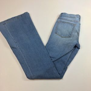 Frame Denim Le High Flare light wash size 24
